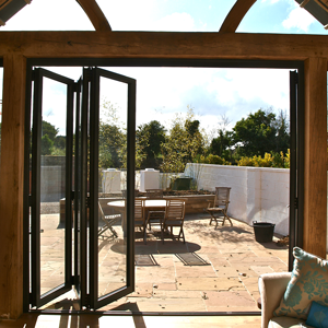 sliding doors looking out