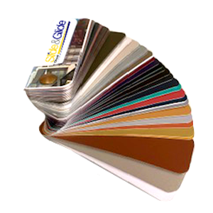 powder colours for aluminium doors